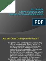 Cross Cutting Issue