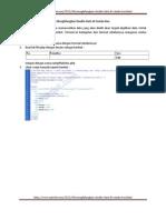 Menghilangkan Double Data Di Combo Box 2