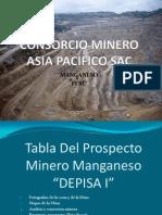 Prospecto minero Manganeso Depisa I
