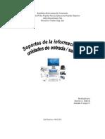 Soporte de la Informacion y Unidad de E/S