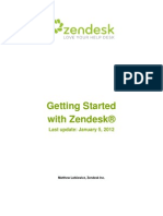 Zendesk Getting Started
