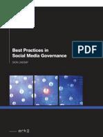 Best Practice in Social Media Governance Summary