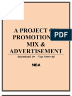 51277606 Promotion Mix Advertising