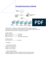 Cara Setting ClearOs Squid External Proxy Mikrotik