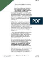 KJV Defenders - M.R. DeHaan - Testimony