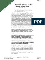 KJV Defenders - William Aberhart - Testimony