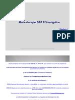 GU_SAP R3_Mode Emploi Navigation v4