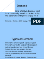 DEmand Anaysis