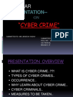 Types of cyber crime | cybercrime | security hacker.