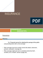 Insurance Service Ppt  Mba
