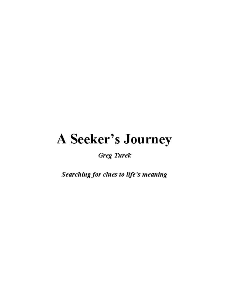 A seekers journey gregturek evolution science malvernweather Gallery