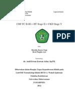 Chf + Ckd Stage v + Ht Stage II