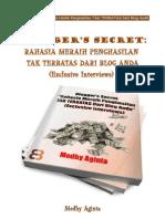 Bloggers Secret by Medhy Aginta