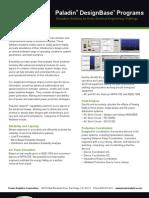 Paladin DesignBase Programs