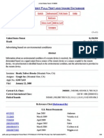 Advertising Based on Environmental Conditions - U.S. Patent 8138930