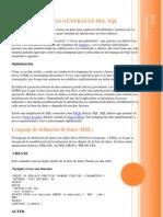 Caracteristicas Generales Del SQL