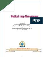 Online Medical Shop Management