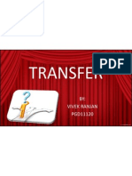 Transfer and Promotion