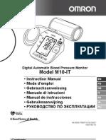 Omron m10-It Manual