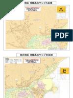田井地区高さマップ