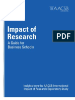 Impact of Research Exploratory AACSBstudy2012