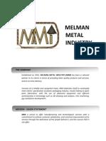 Melman Company Profile