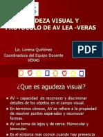 Agudeza Visual y Protocolo de AV LEA VERAS