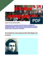Noticias Uruguayas Martes 10 de Abril de 2012