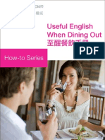 Useful English When Dining Out