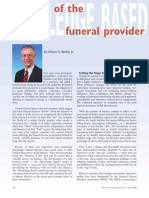 Role Change of the Funeral Director