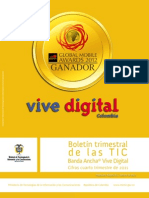 Boletin 4t Banda Ancha Vive Digital 2011