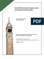 Switch Capacitr DC-DC Converter