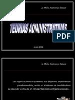 Teorias Administrativas y Organizacionales