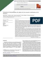 Helzel Evaluation of Intramedullary Rib Splints