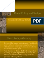 Fiscal Policy Navin