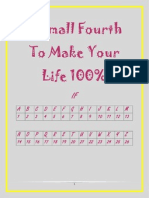 A Small Fourth to Make Your Life 100%