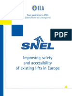 Improving Safety and Accessibility of Existing Lifts in Europe