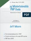 php|tek - Writing Maintainable Code