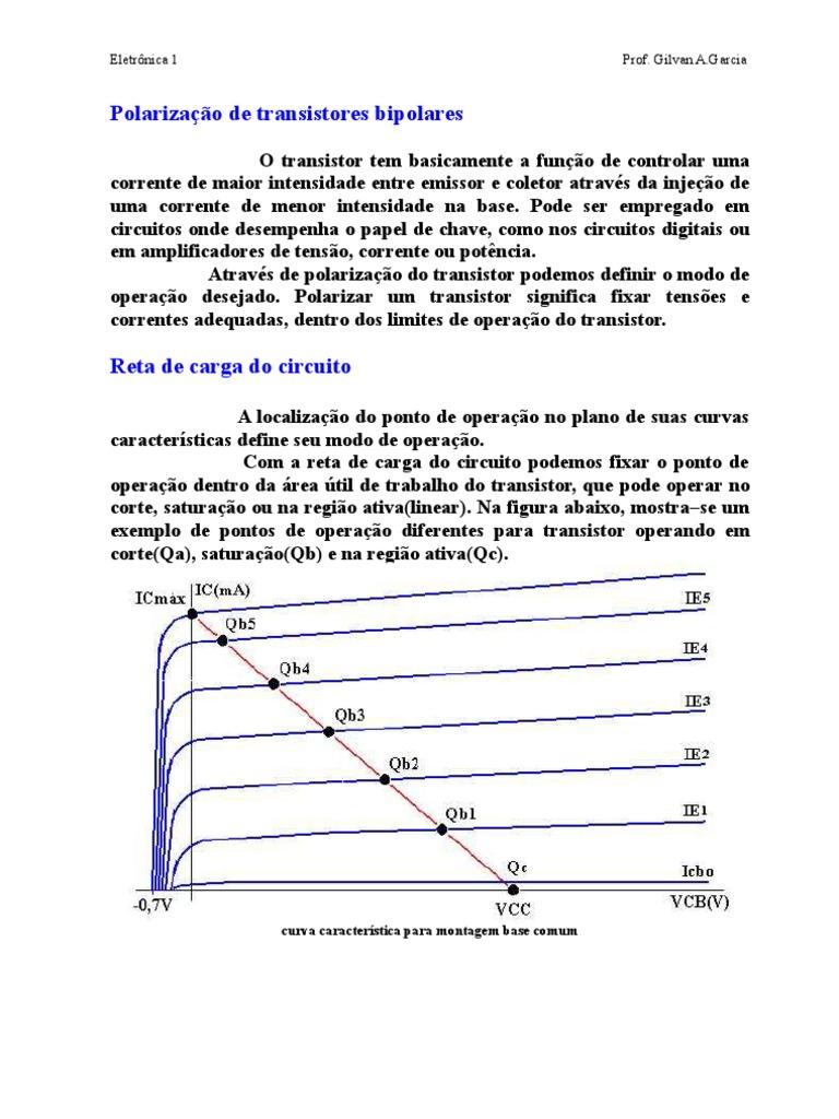 474b47cce4420 14132986 Gilvanag Polarizao de Transistores Bipolares
