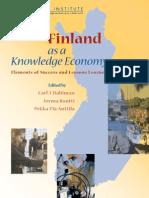 Finland as a knowledge Economy - Carl J Dahlman - Jorma Routti -