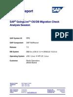 OS DB Migration Check
