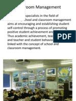 Classroom Management New