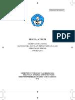 Pedoman Umum on MIPA Tahun 2012