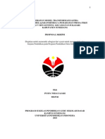 Penerapan Model Transformasi Sastra Dalam Pembelajaran Membaca Pemahaman Prosa Fiksi Kelas v Sdn Genteng Kecamatan Sukasari Kabupaten Sumedang