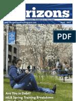 Housatonic Horizons April 2012