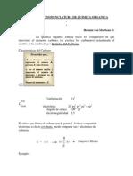 Nociones de Nomenclatura de Quimica Organica