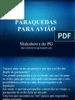 PARAQUEDAS PARA AVIÃO