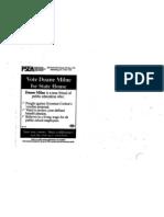 PSEA Campaign Mailer 2012 Primary