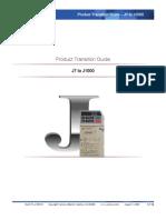 Manual Transicion j7 a j1000