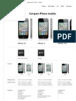 Apple (India) - iPhone - Compare